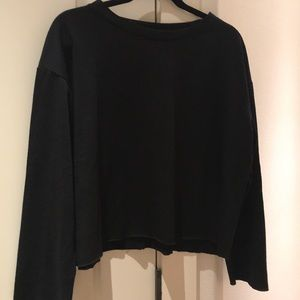Tops - Casual black sweatshirt